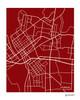 Monroe Louisiana city map