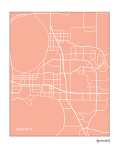 Clermont Florida city map