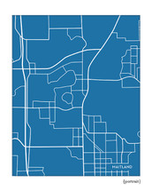 Maitland Florida city map