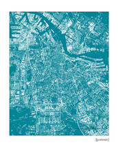 Amsterdam Cityscape art print