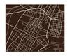 Jersey City Map Print, landscape