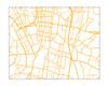 Sydney, Australia city map {landscape}