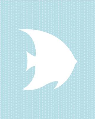 Pattern #10 in seafoam, Portrait