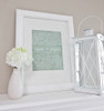Personalized wedding vows {framed example}