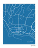 Dana Point California city map