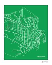 Belize City Map