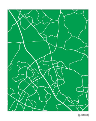 Germantown Maryland city map
