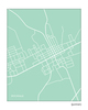 Rockdale Texas city map