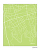 Merrick New York city map print