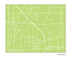 Amherst New York City Map Print