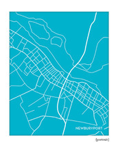 Newburyport Massachusetts city map