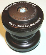"Tange TGR 1"" Black Steel Threadless Headset"
