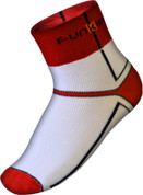 Funkier Lorca Winter Thermo-lite Socks | White/Red | SK-44