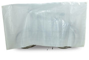 VK Duo Waterproof 2-Bike Bicycle Cover Inc. 5m Cord | White