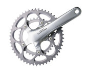 Shimano Ultegra 6600 10 Speed Double Chainset | Silver | FC-6600