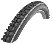 Schwalbe Addix Smart Sam Performance Speedgrip Rigid Tyre 26 x 2.25 White Stripe