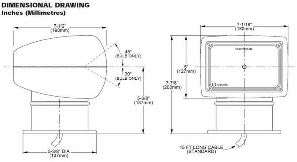 itt jabsco searchlight wiring diagram 37 wiring diagram Car Wiring Diagrams Jabsco Marine Spotlight Parts