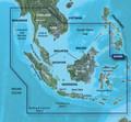 Garmin BlueChart g2 Micro SD with SD Card Adaptor HAE009R Singapore-Malaysia-Indonesia