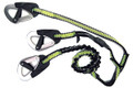 Spinlock 3 Hook Elasticised Tether