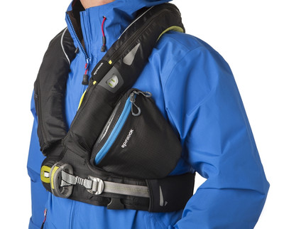 Spinlock Chest Pack - attaches directly to all 2014 deckvest (as sold by Adventure Safety)