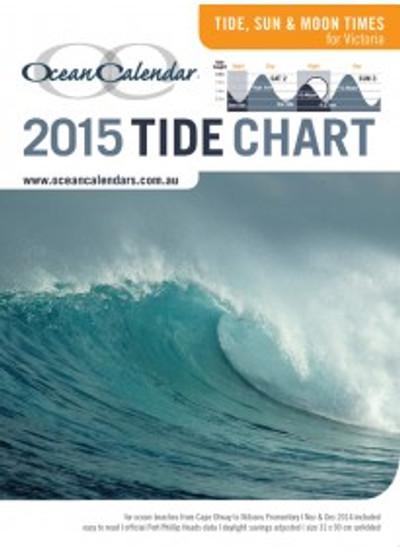 Ocean Calendar Tide Chart 2015 - Victoria