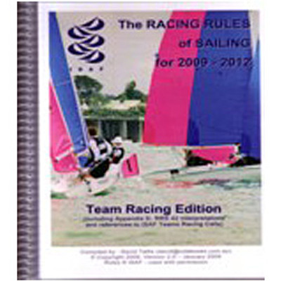Waterproof Team Racing Rules 2009-2012