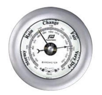"""Plastimo 4"""" Barometer Sealed Matt Chrome"""