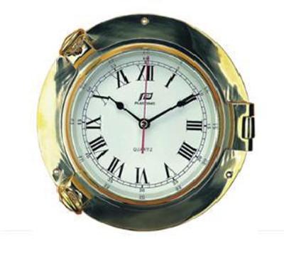"Plastimo 6"" Clock Porthole RN/Arabic"