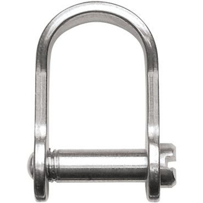 """Ronstan Shackle, Slotted Pin 3/16"""", L:17mm, W:13mm"""