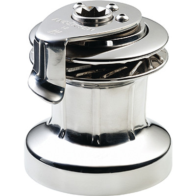 Andersen 12ST Winch, 1-Speed, Full Stainless (RA2012010000)