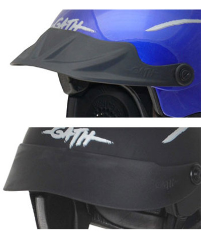 Gath Gedi Helmet Peaks - Ribbed/Smooth