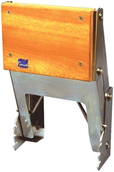 RWB Tenob Outboard Motor Bracket Stainless Steel - Vertical Mount Adjustable