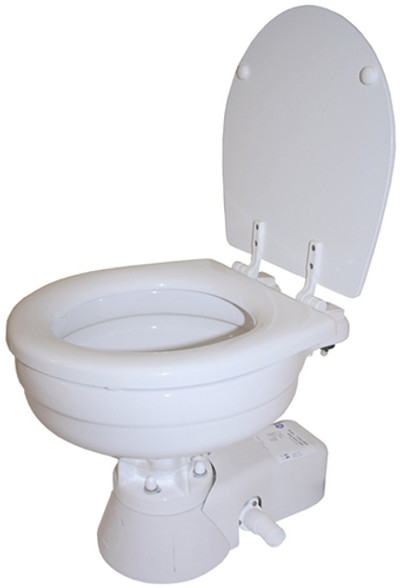 RWB Jabsco Quiet Flush Electric Toilet - Fresh Water Flush 12v