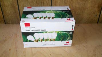 100 Watt Rough Service Light Bulbs