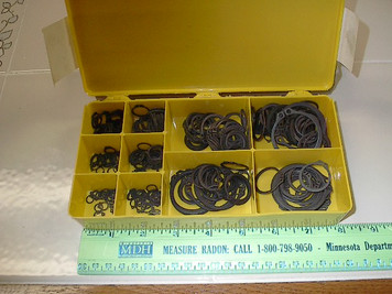 "13041 300pc Exteral Retaining Rings 15 Sizes 1/4""-1.5"""