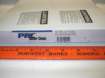 #50 10' Roller Chain Drives Inc. PRC w/connector link, Import $25.95