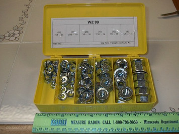 WZ 86  Wiz Nut Kit,   (Flange Nut)
