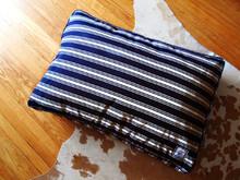 Matching Bed Nautical Navy Blue Stripe