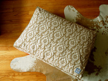 Matching Bed Damask Tan