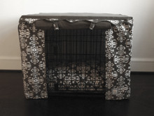 Elegancia gray crate cover