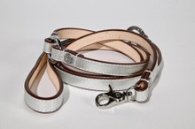 Metallic Silver Leash