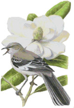 Mississippi State Bird  & Flower