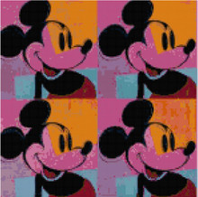 Mickey Mouse Warhol Repeat