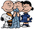 Snoopy, Charlie Brown, Linus and Lucy