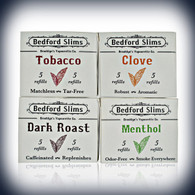 BEDFORD SLIMS FLAVOR PACKS ( 5 CARTRIDGES PER PACK)