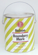 Nelson Brush-Type Boundary Marking Paint - Gallon Cans