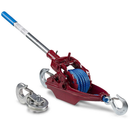 More Power Puller with Amsteel Blue Synthetic Rope at CSPOutdoors.com
