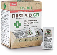 Tecnu First Aid Antiseptic Pain Relieving Wound Gel