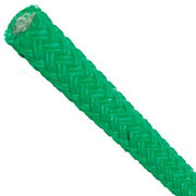 """Samson Coated Stable Braid Rigging Line - 7/8"""" x 150' (Green) Polybag (800-285-60)"""