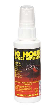 The 10-Hour Insect Repellent